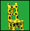 Leopard-Spot   Doll Chair