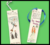 Recycled    Wrapping Paper Bookmarks