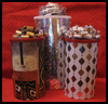 Cool   Recycled Gift Canisters  : Wrapping Paper Arts and Crafts for Children