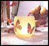 Decoupage   Candle Holders  : Arts and Crafts Activities with Wrapper Paper