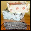 Decorative   Storage Boxes  : Arts and Crafts Activities with Wrapper Paper