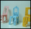 Paper   Dollhouse Chairs