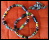 Recycled   Paper Bead Bracelet