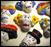 "Clay    Sugar Skulls <span class=""western"" style="" line-height: 100%""> : Day of the Dead Crafts for Kids</span>"