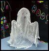 "Gauzy    Ghost Halloween Decoration <span class=""western"" style="" line-height: 100%""> : Day of the Dead Arts and Crafts Projects for Children</span>"
