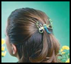 Flight   of Fancy Barrette  : Hair Barrettes Decoration Crafts for Girls
