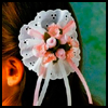 Lace-n-Flowers   Barrette  : Hair Barrettes Decoration Crafts for Girls