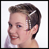 Friends   Forever Barrette   : How to Personalize Your Hair Barrettes