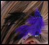 DIY   Feather Barrettes  : Hair Barrettes Decoration Crafts for Girls