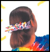 Looped   Barrette  : Hair Barrettes Decoration Crafts for Girls