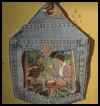 Picture Frame with Blue Denim Jeans Craft