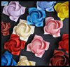 Origami Roses and Flowers Tutorials and Lessons