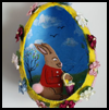 Easter Egg Diorama Crafts Activity for Kids