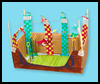 Broomsticks & Balls Diorama Crafts Idea for Children