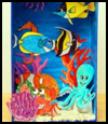 Coral Reef Diorama Craft for Kids