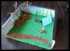 Camp Diorama Box Arts & Crafts Idea