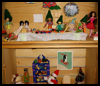 Christmas Diorama Photo Craft Idea