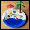 Miniature Beach Diorama Craft Activity