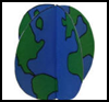 3D Earth Day Paper Crafts : Globe Geography Crafts Projects for Children