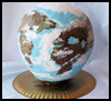 Papier-Mache Globe : Earth Crafts Activities for Kids