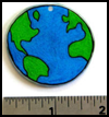 Earth Day Shrinky Dinks : Globe Geography Crafts Projects for Children