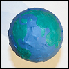 Paper Mache Globe : Globe Geography Crafts Projects for Children