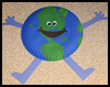 Happy Earth Craft : Globe Geography Crafts Projects for Children