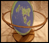 Making Flat Earth Globes : Planet Earth Crafts Educational Ideas