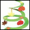 Fall   Leaf Spiral Mobile   : Fall & Autumn Crafts Activities for Children
