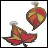"Golden   ""Stained Glass"" Leaves  : Fall & Autumn Crafts Projects"