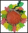 Pumpkin<br />  Straw Hat