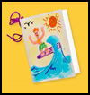 Writing   on the Waves  : Souvenir Crafts Ideas for Children