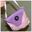 The Handbag Addiction Starts Early With a Felt Purse Crafts for Kids