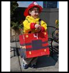 Fire   Truck Costume  : Fire Prevention Week Crafts Instructions