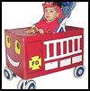 Stroller   Costumes   : Fire Fighters Fire Engines Crafts Ideas