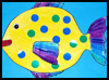 Fun   Tropical Fish Craft - Free Preschool Kids Craft
