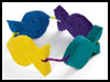 Sponge   Crown    : Underwater Crafts Projects with Fish