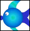 Fish   CD Rom Craft  : Fish Crafts Ideas for Kids