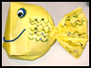 Paper   Bag Fish Preschool Craft