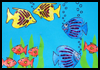 Underwater   Fish Scene    : Underwater Crafts Projects with Fish