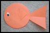 Shape   Fish Craft   : Fish Crafts Activities for Children