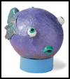 Bug-Eyed   Blowfish    : Underwater Crafts Projects with Fish