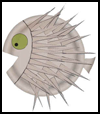 Porcupine   Fish Paper Plate Craft