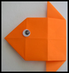 Origami   Goldfish  : Fish in the Ocean Crafts