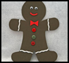 Foam Gingerbread Man Craft for Kids