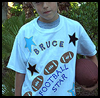 Football    Star Shirt   : Football Crafts Activities for Children