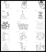mes englishcom free xmas coloring pages for children