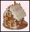 Gingerbread    House  : Gingerbread House Crafts for Kids