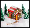Faux    Gingerbread House  : Gingerbread House Crafts for Kids