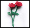 Foam   Roses   : Grandparents Day Gifts Crafts Ideas for Children